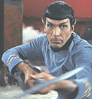 Spock attacks with the lirpa